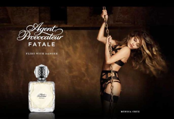 Monica Cruz para Agent Provocateur